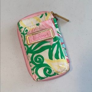 Lily Pulitzer ID wallet and phone case